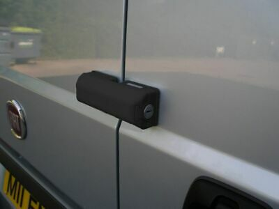Milenco Van Sliding / Rear Door Black Security Lock 0529