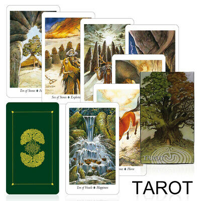 Nature 78 Tarot Cards Deck Full English Mysterious Animal Board Game