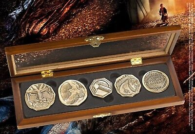 The Hobbit Smaug Coins The Desolation of Smaug by Noble Dragon Gold Treasure