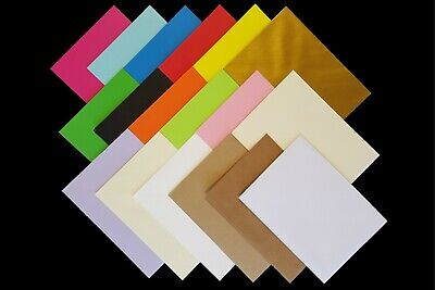 7x5 (133mmx184mm) Coloured Envelopes for Crafts Greeting Cards Party Invitations