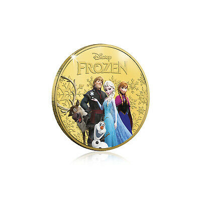 Frozen Disney Birthday Gifts Limited Edition Collectable Gold Mini Luxe Edition