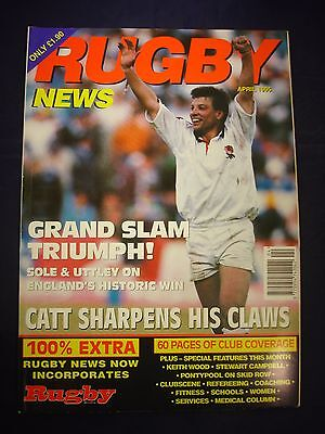 Rugby News magazine  - April 1995