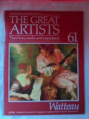 The Great Artists - Marshall Cavendish partwork # 61 - Watteau