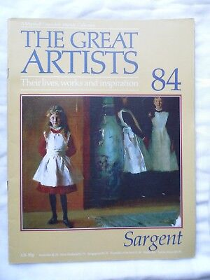 The Great Artists - Marshall Cavendish  partwork # 84 - Sargent