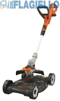 "Tagliabordi Rasaerba Black & Decker ""3IN1"" 18V LITIO STC1820CM"