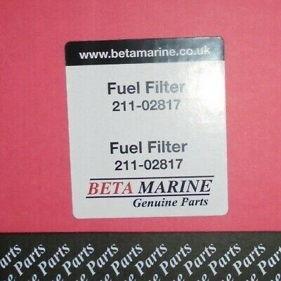 Beta Marine Fuel Filter  211-02817 For Beta 30, 38, 43, 50, 60, 90T, 105T, 115T