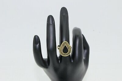 Afghan Vintage Adjustable Ring Band with Stones Authentic Ethnic Tribal Boho