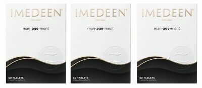 3 x Imedeen Man-age-ment 60 Tablets 3 Month Supply (Management)