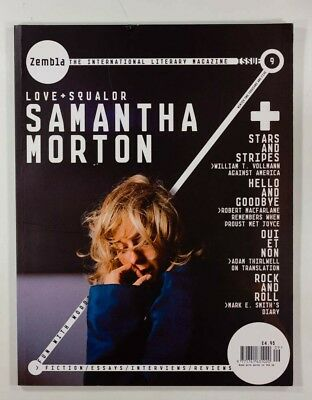 Samantha Morton MARK E SMITH Robert MacFarlane DAN CROWE Zembla magazine 9 2005