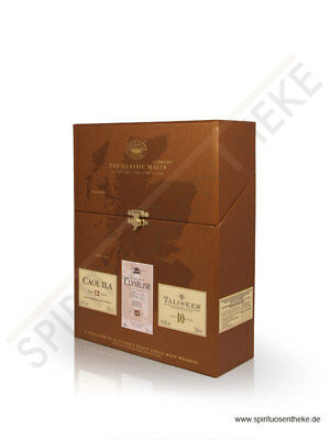 The Classic Malts Collection Coastal 3 x 0,2 L | Whisky