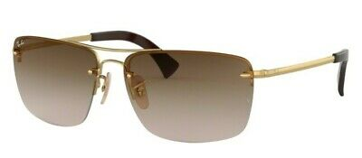 136e058c6ba RAY-BAN SUNGLASSES 3541 001 13 Gold Brown Gradient - EUR 104