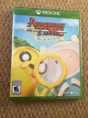 Adventure Time Finn & Jake Investigations Xbox One **BRAND NEW SEALED**