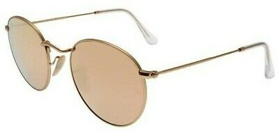 6ae94d1ca02 Sunglasses Ray-Ban Round Metal RB3447N 001 Z2 50 Gold Copper Flash