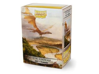 The Oxbow Art 100 ct Dragon Shield Sleeves Standard SIZE SHIPS FREE 5% OFF 2+!