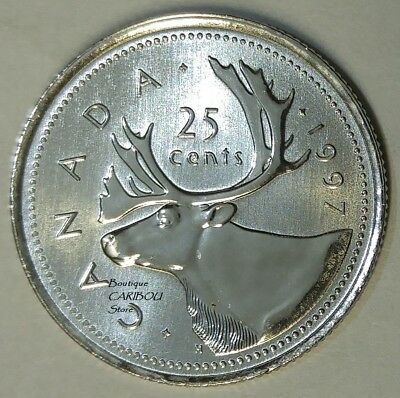 1997 Canada Proof-Like 25 Cents