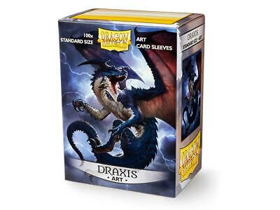 Draxis Art 100 ct Dragon Shield Sleeves Standard Size SHIPS FREE 5% OFF 2+