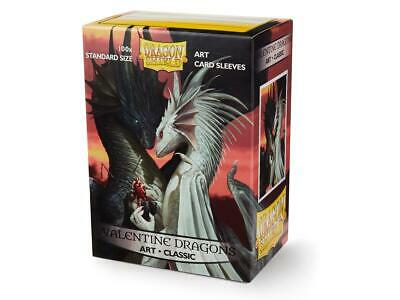 Valentine Art 100 ct Dragon Shield Sleeves Standard Size SHIPS FREE 5% OFF 2+