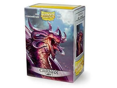 Carnax Art 100 ct Dragon Shield Sleeves Standard Size SHIPS FREE 5% OFF 2+