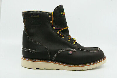0b2d3498572 THOROGOOD MEN'S 1957 Series Waterproof 6″ Briar Pitstop Moc Toe 13M 814-3600