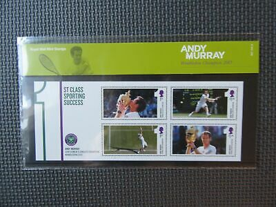 2013 G.B Presentation Pack - Andy Murray : Wimbledon Champion 2013 - Pk No. M21