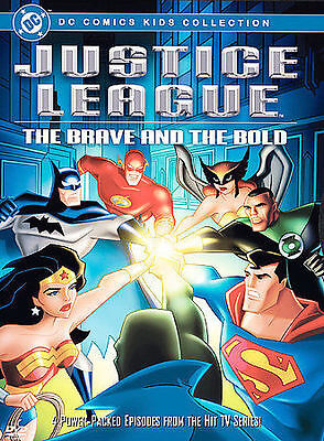 Justice League - The Brave and the Bold (DVD, 2004)