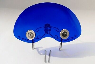 Biemme Flyscreen In Translucent Blue Fits Lambretta Series 2
