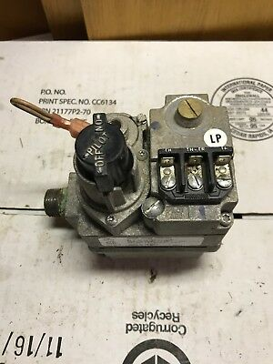 white rodgers furnace gas valve pilot model 36c03 type 300 lp convertible  to nat