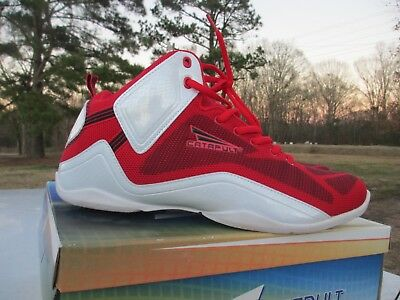 1beca6c4504cd Catapult Larson Men Workout Basketball Shoes Red White Size 13 New