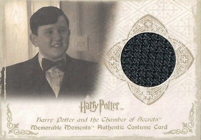 Harry Potter Memorable Moments, Harry Melling Costume Card C3 #410/660