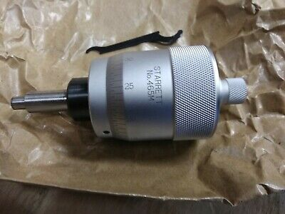 P1 Starrett Micrometer Head 465Mxsp-25  Brand New In Orginal Box