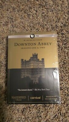 Limited Edition Downton Abbey - Seasons One & Two DVD Original UK Edition