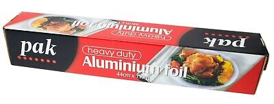 Aluminium Foil Wrap Roll Catering Kitchen Heavy Duty 44cm x 150m Cheap Food