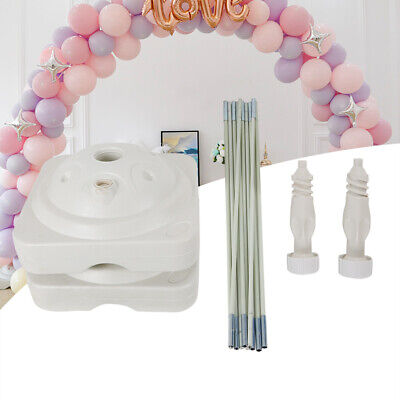 Balloon Arch Frame Column Stand Builder Kits for Birthday Wedding Decorations
