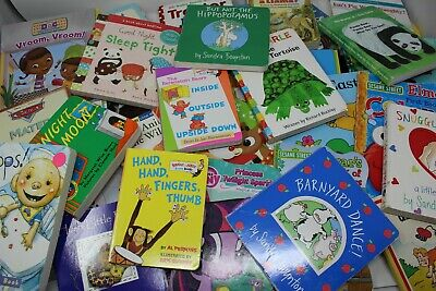 Children's Board Books Lot for Kids / Toddlers / Preschool / Daycare 6 Pounds