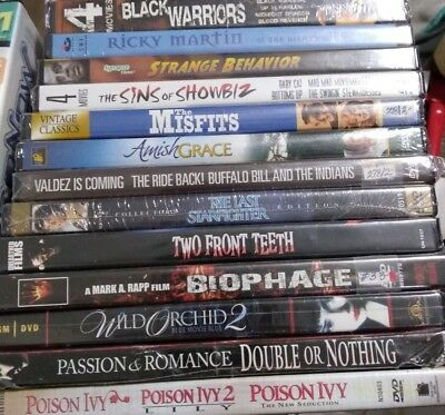 SEALED DVDs! Horror, Family, Cult, and More! FREE SHIPPING!