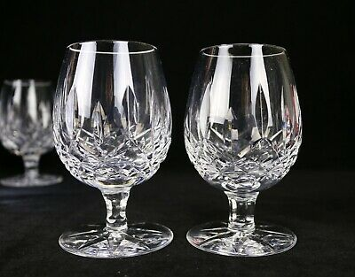 """Set of 2 Waterford Lismore Small Brandy Glasses 4-1/2""""H (Multiple Available)"""
