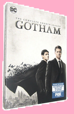 NEW Gotham: Season 4 The Complete Fourth (2018,5-DVD) Free shipping