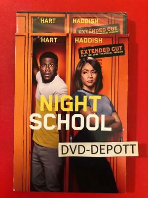 NIGHT SCHOOL DVD & Slipcover {{AUTHENTIC DVD READ}} Brand New FAST Free Shipping