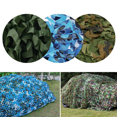 8 Sizes Camouflage Net Camo Netting For Camping Shooting Hunting Hide 3 Colours
