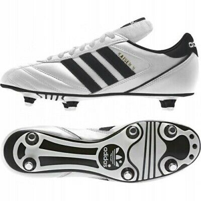 on sale 259a8 64697 Adidas Kaiser 5 Cup B34256 White Black Leather Soft Ground Football Boots