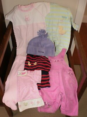 Bulk  Lot  of  Baby  Girls  Clothes  -  Size  00  +  0