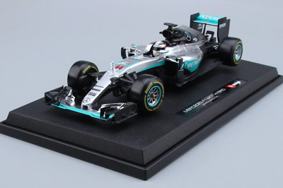 1/18 Formula One 2016 Mercedes F1 W07 Hybrid 44 LEWIS HAMILTON Diecast Model Car
