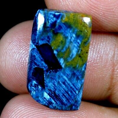 10.55Cts. 100% Natural Blue Pietersite Fancy Cab Loose Gemstone