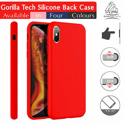 Silicone Back Case Ultra Slim Shockproof Grip Cover By Gorilla for Mobile Phones