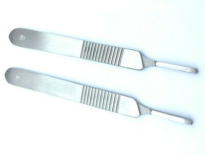 2 x Genuine Scalpel Handle No.3 Surgical Craft for Blades 10, 10A, 11, 12, 15
