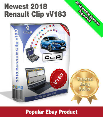 ☆Newest Renault Clip 183 Diagnostic Software☆2018 Download Version☆
