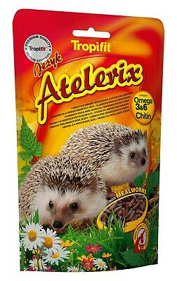 ATELERIX FOOD  With Omega-3 and Omega-6, Mealworms PYGMY & HEDGEHOG FOOD (300g)