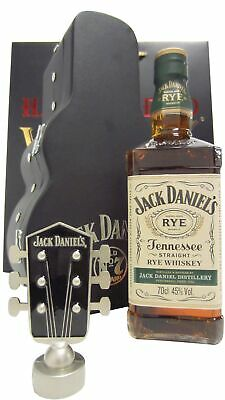 Jack Daniels - Tennessee Rye Guitar Case (Hard To Find Whisky Edition)  Whisky