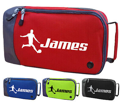 Personalised Childrens Football Boot Bag Kids Footballer Sports Gym Kit