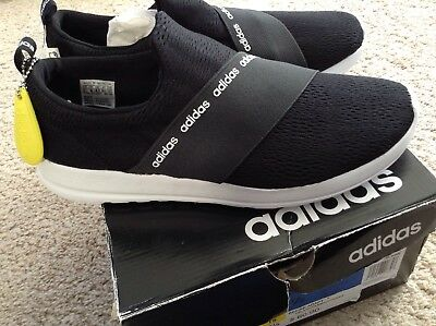 5fce1d90a562 Adidas Cloudfoam Refine Adapt Womens Sneakers Sports Shoes Size 9.5 Black  DB1339